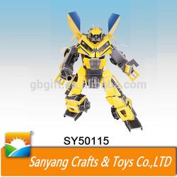 81 Pcs robot toy 3D games puzzle for kids