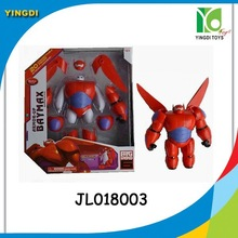"Big Hero 6 PVC Action Figure 8"" Baymax Super Hero Toy"