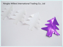 Christmas tree confetti , PVC confetti winter decorations , white party confetti