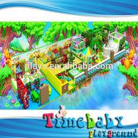 HSZ-KTBA208 kids toys playground, wooden house kids toys playground