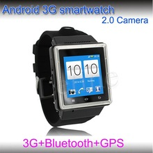 Android watch phone with 3G GPS bluetooth removable battery 2015 new mould