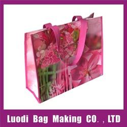 Wholesale reusable promotional non woven shopping bag