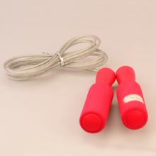Hot sale PVC cute wooden animal jump rope crossfit jump rope with sponge handle jump rope