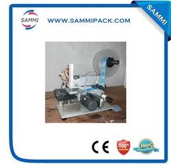 Customized hot sale shower gel bottle flat labeling machine
