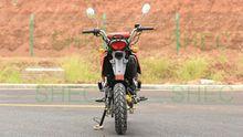Motorcycle powerful sport motorcycle