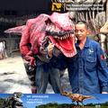 Mi dino- m03 comercio de alta garantía de calidad de dicha cantidad para adultos traje de dinosaurio