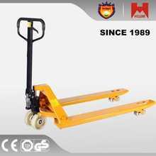all terrain pallet truck pu dual wheels caster