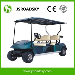 Smart electric 4 passenger golf cart for driving