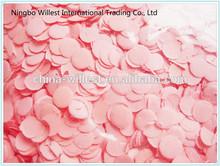 wedding color confetti , mini round shape confetti , party confetti decorations