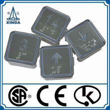Stainless Steel Locks Miniature Push Button Switch