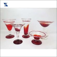 Red Drinking Glass, Martini Glass