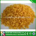 Meilleure qualité de la cire d'abeille granule10 prix jaune ou blanc de revêtement pour la nourriture