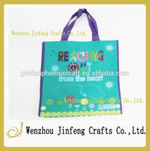 a buon mercato di alta qualità shopping sacchetto non tessuto con stampa offset