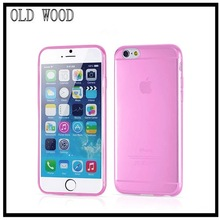 transparent clear crystal soft tpu mobile phone cover for iphone6 case