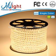 Mlight 3rd Generation 970 110V 220V Flex LED Strip Light 50m Warm White IP65 CE RoHS FCC