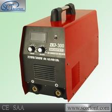 ZX7-300 inverter single phase 220v 300 amp mma inverter portable welding machine 300 amp