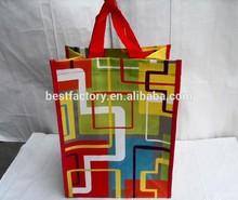 hot design nylon nonwoven foldable shopping bagpromotional bag