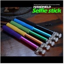 focusing with soft foam grip monopod selfie pod selfie stick
