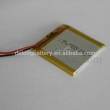 Vendita calda prezzo batteria ai polimeri di del-404950 1100 mah batteria al litio ricaricabile