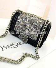 Handcrafted fashion lady designer handbag/2015High quality pu leather ladies handbags,fashion women's handbags,wholesale handbag