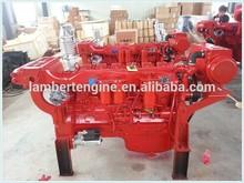 Genuine engine!! China weifang Lambert Brand turbo charge 6 cylinder marine diesel engine 200hp boat engine