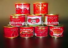 can(tin) packing tomato paste/peeled tomato/tomato puree
