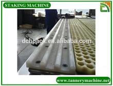 animal skin processing machine leather staking machine