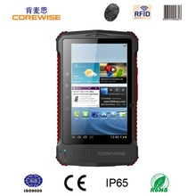 3.7V 8000mAh Quad Core tablet with wireless USB barcode scanner
