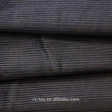 50% linen 50 % cotton dyeing corduroy fabric for garment