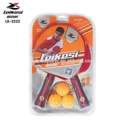 table tennis bat 2 rackets with 3 balls set