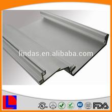 Custom design manufacturing aluminum car rail/track accessories profiles