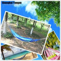 Hot outdoor cotton fabric double hammock