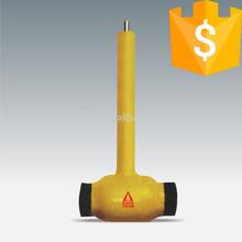 handle underground extension stem 4 inch lpg ball valve