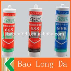 hot sale good quality aquarium silicone sealant tube