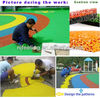 colored epdm granules/epdm rubber flooring/epdm granules mixing with polyurethane binder-g-y-150304