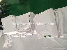 white color fire retardant pvc tarpaulin 300g