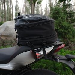 New arrival motorcycle rear seat package black tail bag ultimate sports bag OEM bag factory