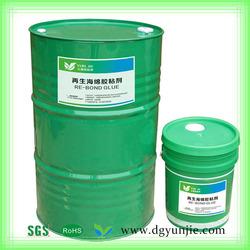 Best selling Plant raw liquid adhesive polyurethane foam glue bond