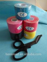 kinesiology tape kinesiology sports tape kinesiology tape knee with scissors use