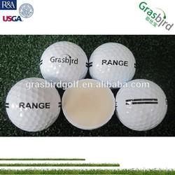 high performance 1 2 pc long durable practice golf balls driving range