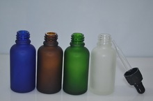 quality olive oil glass bottle 30ml 1oz glass frosted bottle