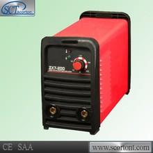 Zx7-200 portátil inversor de soldadura por arco de la máquina igbt 220v portátil mejor para los productos de importación portátil de soldadura de la máquina