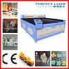 2015 Hotsale Alibaba China New product acrylic/wood/leather/paper/cloth 80W/100W/120W/150W cnc laser cutting machine price CE