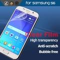 Corea / japón Material de teléfono celular pet protector de pantalla para Samsung s6