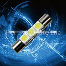 Xenon white 5050 3SMD 6614 Fuse LED Visor Vanity Mirror Lights Wholesale PA