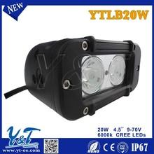 led light bar 20w 9--70V 30000hours above life timeIP67 led bar light led light bar