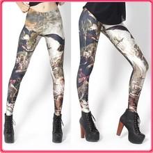 Lasted Ladies printing leggings sex custom pants