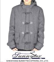 SUNNYTEX OEM outwear coat winter custom european wool coats mens