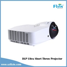 Multimedia eduaction Home theater ,business meeting use DLP 3D Ultra short throw Projector