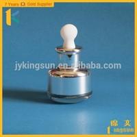 15ml 20ml decorative essential oil aluminum bottles with dropper